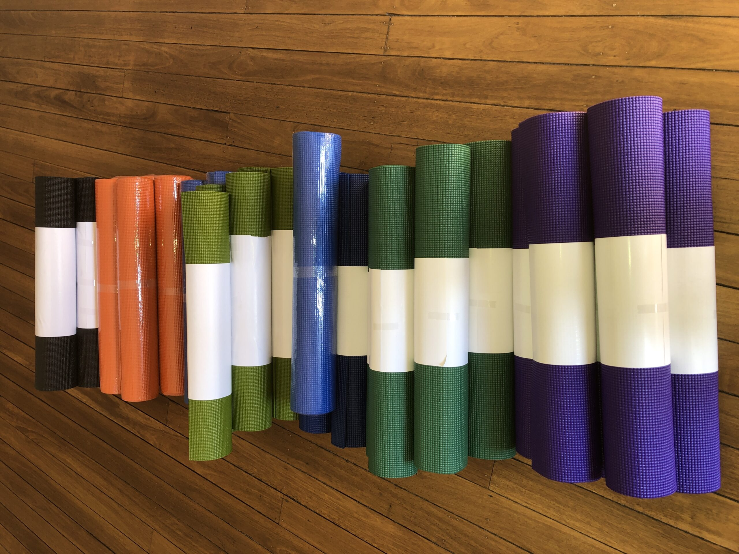 Yoga mats for Sale at Hamilton Yoga Iyengar School in Newcastle New South Wales